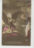 GUERRE 1914-18 - Lot De 3 Jolies Cartes Fantaisie Patriotiques Aigle Allemand Et Coq Français Triomphant Canon Drapeau - Oorlog 1914-18