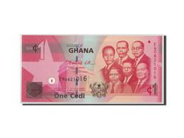 Billet, Ghana, 1 Cedi, 2010, 2010-03-06, KM:37b, NEUF - Ghana