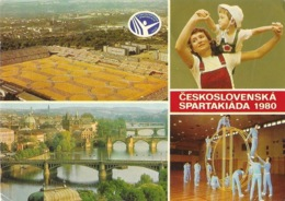 Praha (Prague) Ceskoslovenska Spartakiada 1980 (Sports, Spartakiades) Multivues - Tchéquie