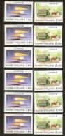Cept 1988 Finlande Finland Suomi Yvertn° 1015-1016 *** MNH 6 Séries  Cote 60 € Transport Communication - Europa-CEPT