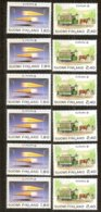 Cept 1988 Finlande Finland Suomi Yvertn° 1015-1016 *** MNH 6 Séries  Cote 60 € Transport Communication - 1988