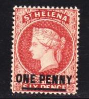 STAMPS-BRITISH-ST-HELENA-1864-UNUSED-SEE-SCAN - Altri