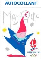Magique, La Mascotte Des Jeux Olympique D'hiver Albertville 92 - Autocollant - Juegos Olímpicos