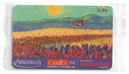 USA - Ameritech AMT - CardEx '94 Expo Amsterdam 1994 - 26.000ex, Remote Mem 0.4$, NSB - Otros