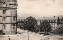 DECAZEVILLE ( 12 ) - Institution Sainte-Foy . - Decazeville