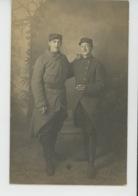 """GUERRE 1914-18 - EPINAL - Belle Carte Photo Portrait Militaires """"Sapeur 11ème Génie 26ème Compagnie """" écrite En 1915 - Epinal"""