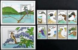# Grenada 1988**Mi.1744-53 Birds , MNH [19;188] - Vögel