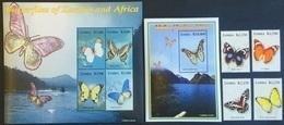 # Zambia 2005**Mi.1508-16 African Butterflies , MNH [20;123] - Schmetterlinge