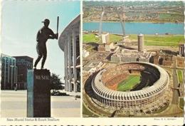 St Louis, Missouri MO - Stan Musial Statue & Busch Stadium (Baseball's Champion, Cardinals) - St Louis – Missouri