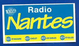 A.C.RADIO NANTES 100.9 - Aufkleber