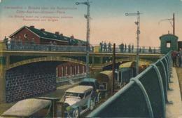 CPA - Belgique - Herbesthal - Brücke über Die Bahnstrecke - Lontzen