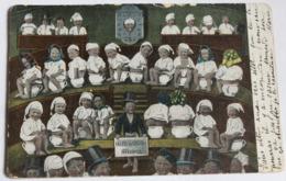 CPA Précurseur Nombreux Bébés Sur Pot De Chambre Romans 1904 Brigadier Charles Fargier De Lagrange 19 Régiment Dragons - Cartes Humoristiques