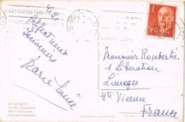 34094. Postal ALICANTE 1962. Vista Puerto Y Explanada - 1931-Hoy: 2ª República - ... Juan Carlos I