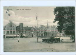 U8522-239./ Wismar Markt Mit Wasserkunst 1910 AK - Deutschland