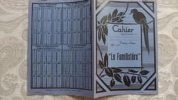 """Année 60  1 Protège Cahier  """"LE FAMILISTERE""""  -  REIMS - Mappe"""