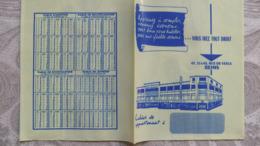 Année 60  1 Protège Cahier En Plastique GRANDS MAGASINS SAINT JACQUES  -  REIMS - Mappe