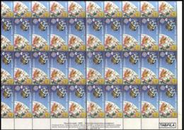 BULGARIA \ BULGARIE - 1991 - Europe-CEPT - Cosmos - 2 Felletes** 4x10 - 1991