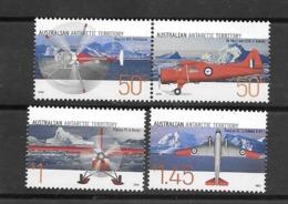 Territoire Antarctique Australien AAT 2005 Mi. 161-164 Neuf ** 100% Avions - Unused Stamps