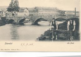 CPA - Belgique - Stavelot - Le Pont - Stavelot