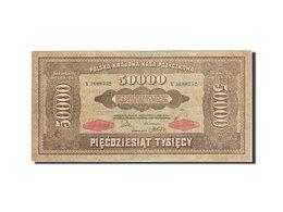 Billet, Pologne, 50,000 Marek, 1922-1923, 1922-10-10, KM:33, TB - Pologne