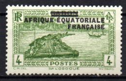 Col17  Colonie AEF Afrique N° 19 Neuf X MH  Cote  1,25€ - A.E.F. (1936-1958)