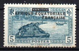 Col17  Colonie AEF Afrique N° 20 Neuf X MH  Cote  1,60€ - A.E.F. (1936-1958)