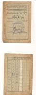 Mitgliedskarte - 13.6.1934 - Kameradschaftsbund Ehemaliger Angehöriger Des Inf.-Rgts. Nr. 81 Wien - Organizations