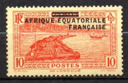 Col17  Colonie AEF Afrique N° 21 Neuf X MH  Cote  1,40€ - A.E.F. (1936-1958)
