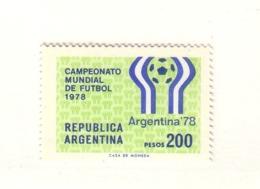 ARGENTINE 1978 FOOTBALL  Yvert:1110 NEUF MNH** - Ungebraucht