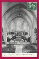 CPA Chalabre - Intérieur De L'Église Saint-Pierre - France