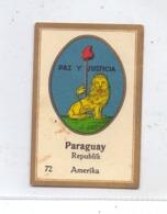 PARAGUAY, Staatswappen, Abdulla Sammelbild / Cinderella - Paraguay