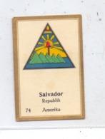 EL SALVADOR, Staatswappen, Abdulla Sammelbild / Cinderella - Salvador