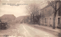39-PONT-D'HERY- ENTREE DU VILLAGE ROUTE ANDELOT - France