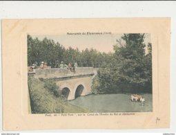 32 FLEURANCE PONT DIT PETIT PONT SUR LE CANAL DU MOULIN DU ROI ET ABREVOIR - Fleurance