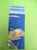 Dépliant Touristique Ancien à 3 Volets/ Principauté De Monaco/Monte Carlo /Vers 1940-50  PGC386 - Dépliants Touristiques