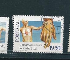 N° 1491 Journée Mondiale De La Santé Campagne Antitabac 19.50  Timbre Portugal  Oblitéré 1980 - Oblitérés