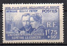 Col17  Colonie AEF Afrique N° 63  X MH Cote  31,00€ - Unused Stamps