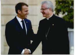 Rencontre Des 2 Co-Princes D'Andorre: L'Évêque D'Urgell Joan Enric Vives & E.Macron,Septembre 2019, Andorra - Andorre Espagnol