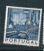 N° 1076 Raffinerie De Pétrole De Porto   Timbre Portugal  Oblitéré 1970 - 1910-... République