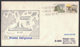 QS229   Portugal 1977 Ponta Delgada Cover To Germany - Lettere