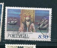 N° 1515 500 Ans De La Montée Sur Le Trône Du Roi Jean II   Timbre Portugal  Oblitéré 1981 - Oblitérés