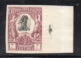 APR2941 - HAITI 1904 , Yvert N. 80  **  MNH  (2380A)  Non Dentellato - Haiti