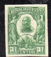 APR2943 - HAITI 1904 , Yvert N. 81  * Linguella  (2380A)  Non Dentellato - Haiti