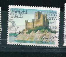 N° 1716 Châteaux Du Portugal. Almourol  Timbre Portugal  Oblitéré 1988 - Oblitérés