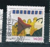 N° 1418 Campagne Contre Le Bruit : Porte- Voix Timbre Portugal  Oblitéré 1979 - 1910-... République