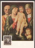 1957  Gemald Heilige Familie  MiNr 586 - DDR