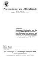 Königreich Westphalen Und Die Westphälische Post Von Jürgen Mahlmann (DASV) In PgA 169 Aus 2008 - Germania