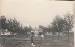 St. Michel-Thuboeuf : Carte-photo Du Château. (photograhe : Marcel GROSSE. Laigle). - France