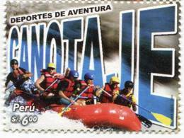 Lote P2006-10, Peru, 2006, Sello, Stamp, Deportes De Aventura, Canotaje, Boating, Extreme Sport - Peru