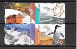 AUSTRALIE Territoire Antarctique 2002 - Yvert 149/152 - Oiseau Pingouin - Neuf ** - Territoire Antarctique Australien (AAT)